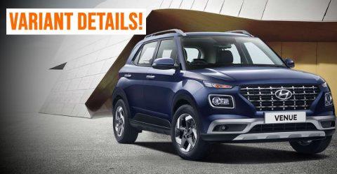 Hyundai Venue Variants Featured