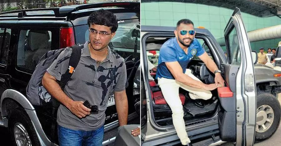 Indian Cricket Captain Cars Featured