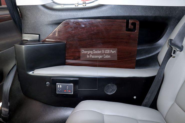 Toyota Innova Crysta interiors modified in 'luxury meeting