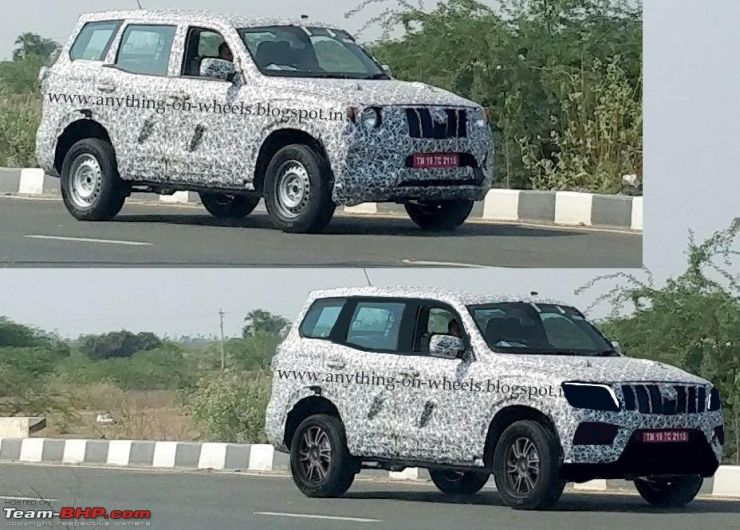 2020 Mahindra Scorpio Latest Spyshot Shows What The New Suv Could