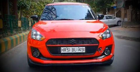 Maruti Suzuki Swift Modified