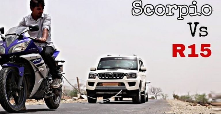 R15 Vs Scorpio