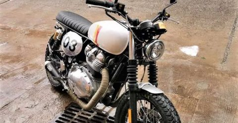 Royal Enfield Interceptor Tracker Featured