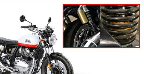 Royal Enfield Suspension Featured