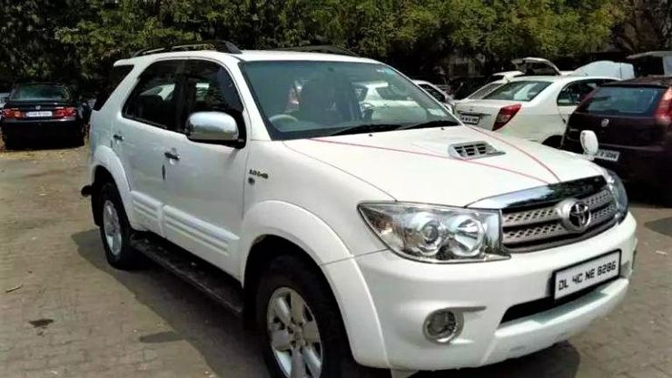 Toyota Fortuner Used Pic