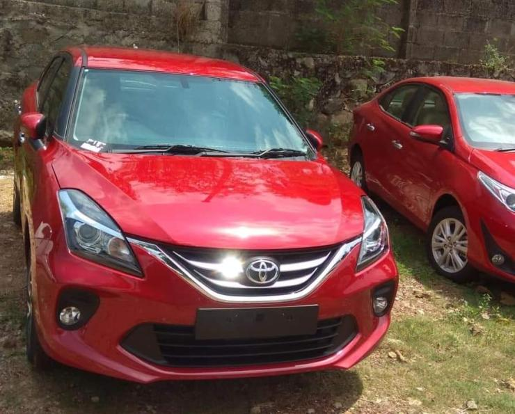 Maruti Baleno Based Toyota Glanza Clearest Pictures Of The New Car