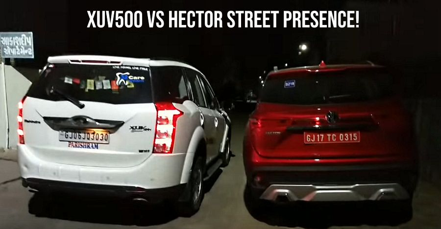 Mg Hector Vs Mahindra Xuv500 Side By Side Which One Looks More