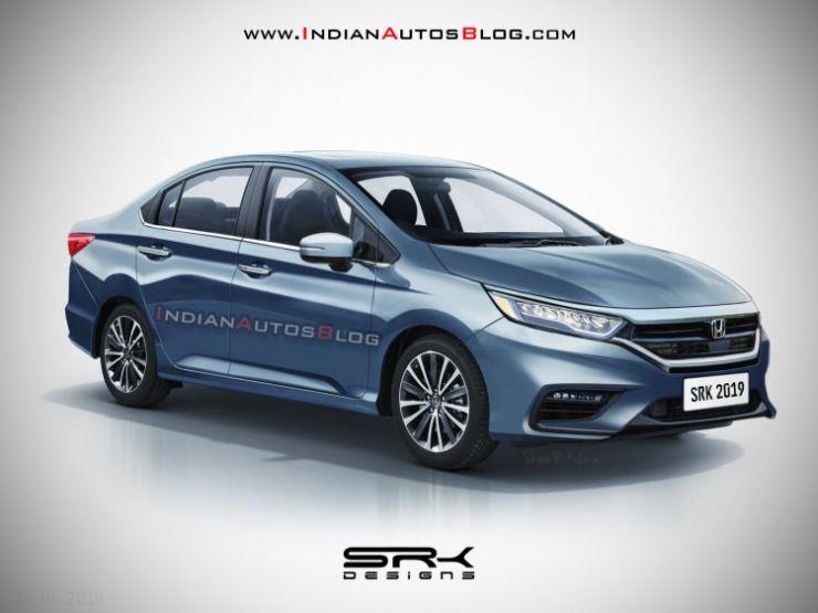 2020 Honda City Sedan What The Next Generation Model Could Look Like