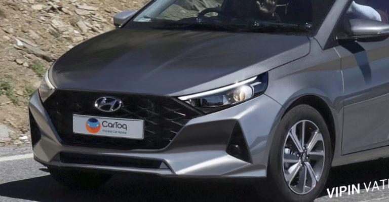 2020 Hyundai I20 Render Fb