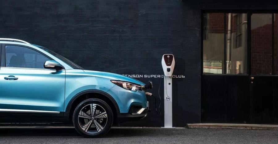 Upcoming MG eZS electric SUV spied: Will take on Hyundai Kona EV
