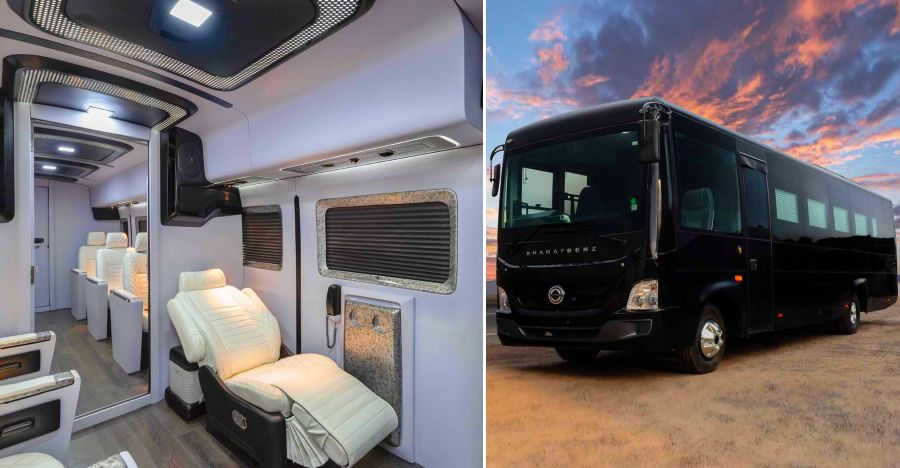 Reddy Bharat Benz Custom Luxury Bus Featured