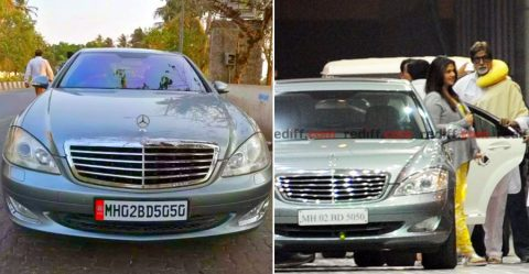 Amitabh Bachchan Mercedes S Class For Sale Featured