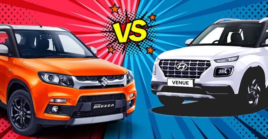 Hyundai Venue vs XUV300 vs Vitara Brezza vs Creta top speed test [Video]