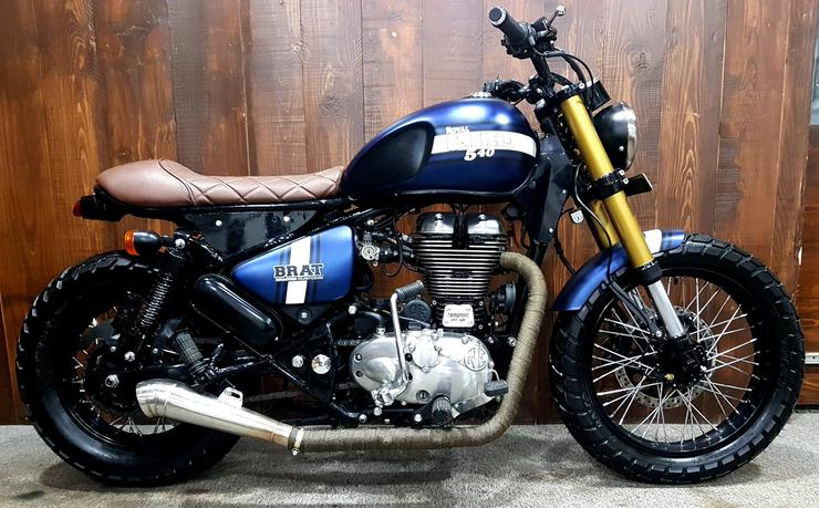 GODSPEED: Meet the beautiful Royal Enfield-Classic 500 based cafe