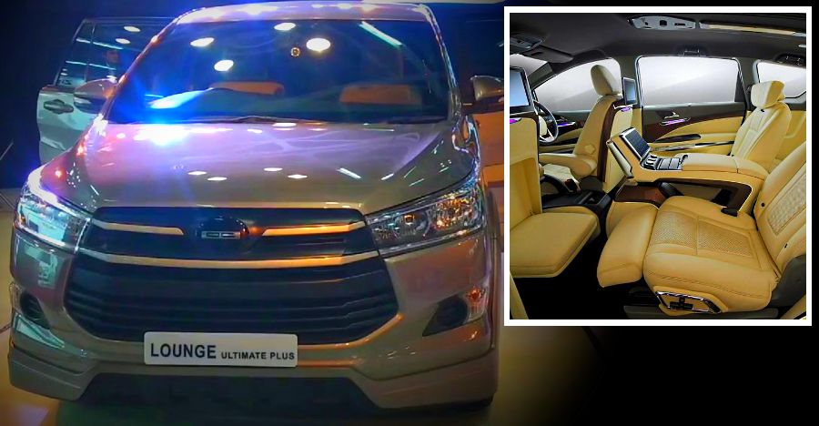 5 cars with DC Design customized interiors: Toyota Fortuner