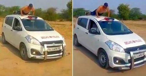 Delhi Police Stunt Featured