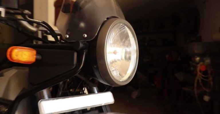 Enfield Himalayan Headlamp Featured