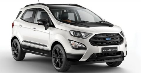 Ford Ecosport Thunder Edition Featured