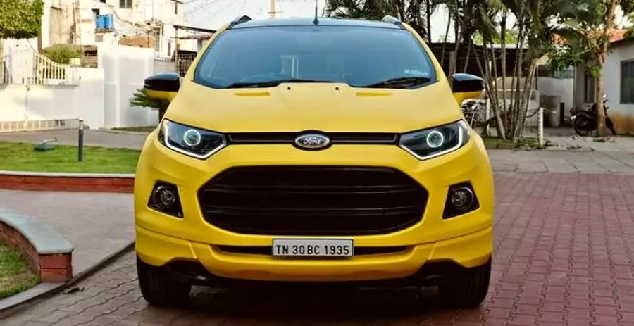 Best Used Ford Ecosport Suvs With Under 65000 Kms In