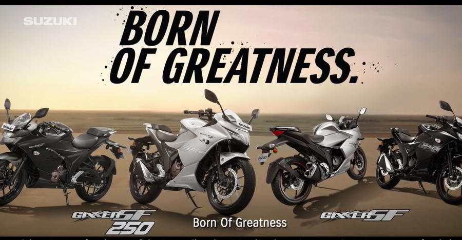 Suzuki puts out a new TVC for the Gixxer SF 250 fully faired sportsbike
