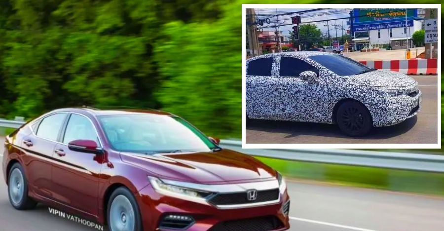 Honda City 2020 Spyshot Featured