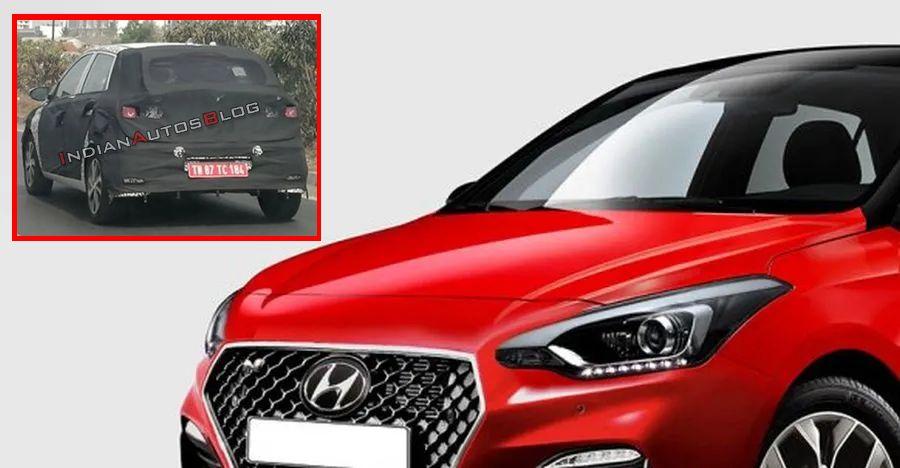 Hyundai Elite I20 Spyshot Featured
