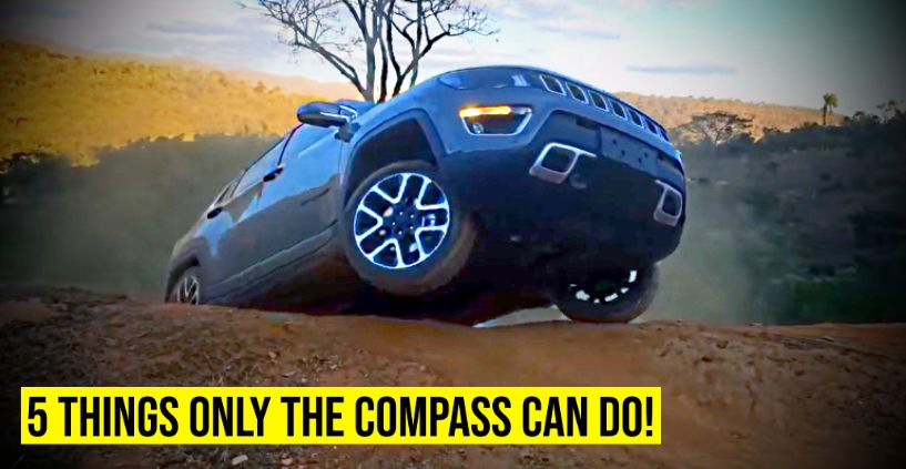 Jeep Compass Tata Harrier Featured