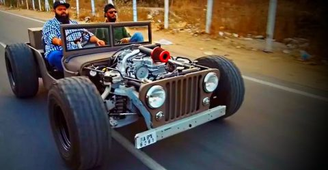 Jeep Rat Rod Featured