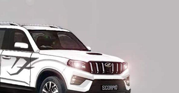 2020 Mahindra Scorpio SUV: Latest render reveals more