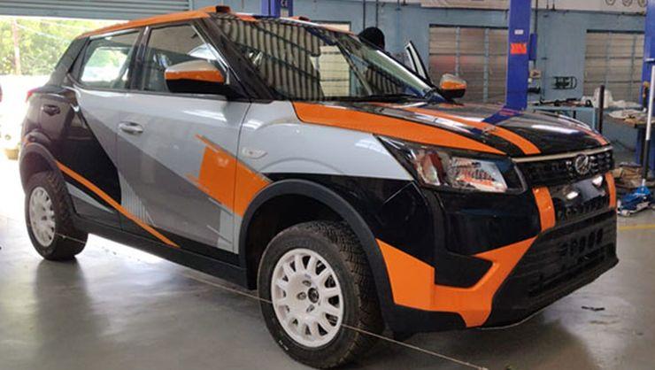 Mahindra Xuv300 Rally 1