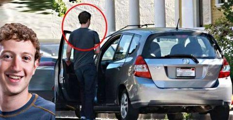 Mark Zuckerberg Honda Fit