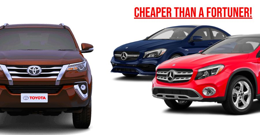 Mercedes Cheaper Than Fortuner Featured
