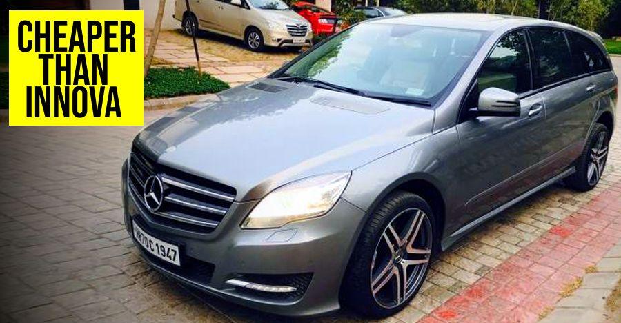 Mercedes R Class Featured