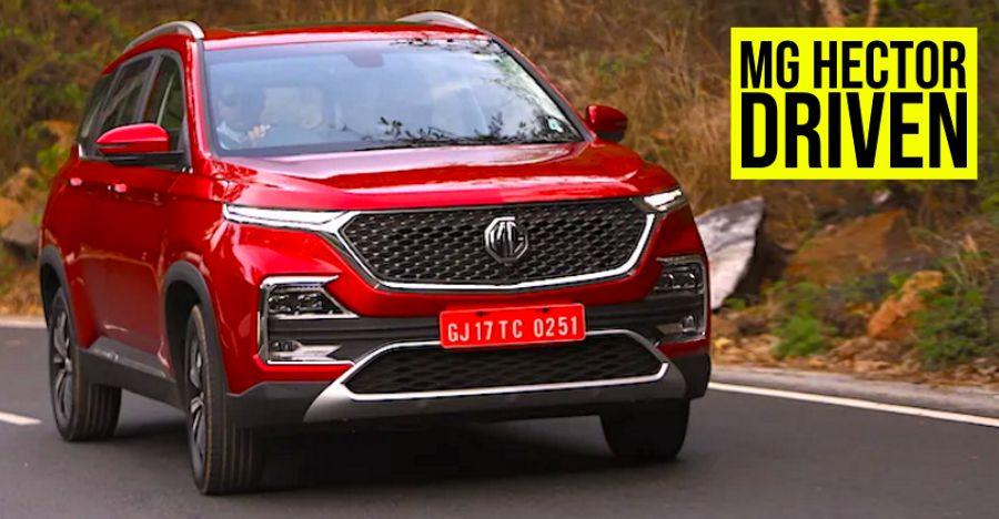 MG Motor's Hector 1.5 Petrol Hybrid & 2.0 Diesel SUV Test Drive Review