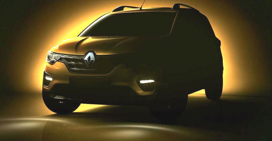 Renault Triber teased: To sit in between Kwid and Duster