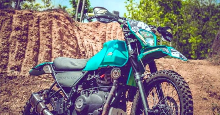 Royal Enfield Himalayan Modified Featured
