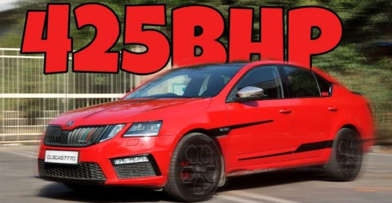 Skoda Octavia 425 Bhp Featured