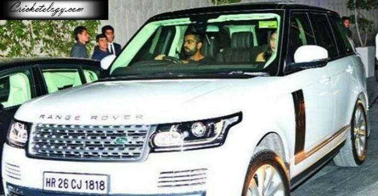 Virat Kohli Range Rover Featured