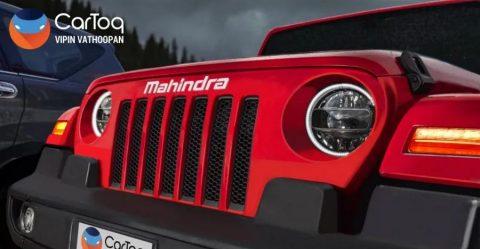 2020 Mahindra Thar Featured