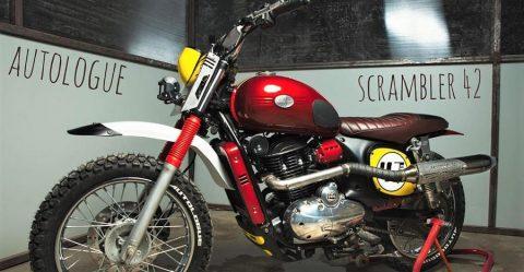 Jawa Forty Two Scrambler Featured