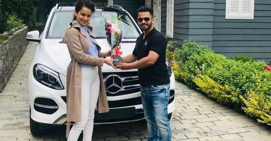 Bollywood actress Kangana Ranaut buys a Spanking new Mercedes-Benz GLE luxury SUV