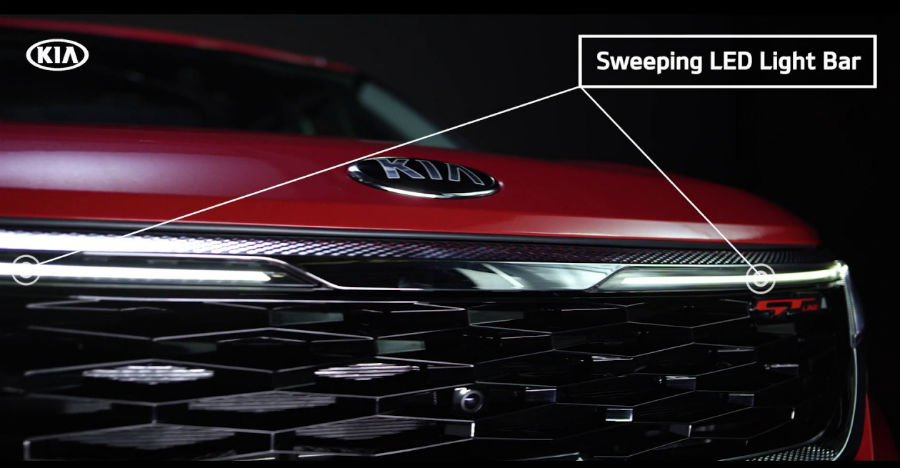 Kia Seltos: New TVC shows the advanced lighting set-up in the upcoming SUV