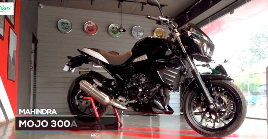 Mahindra Mojo 300 ABS spotted at dealership ahead of launch [Video]
