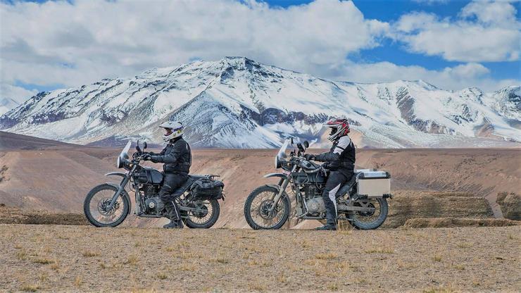 Royal Enfield The Himalayan Motorcycle Testing Videos 5