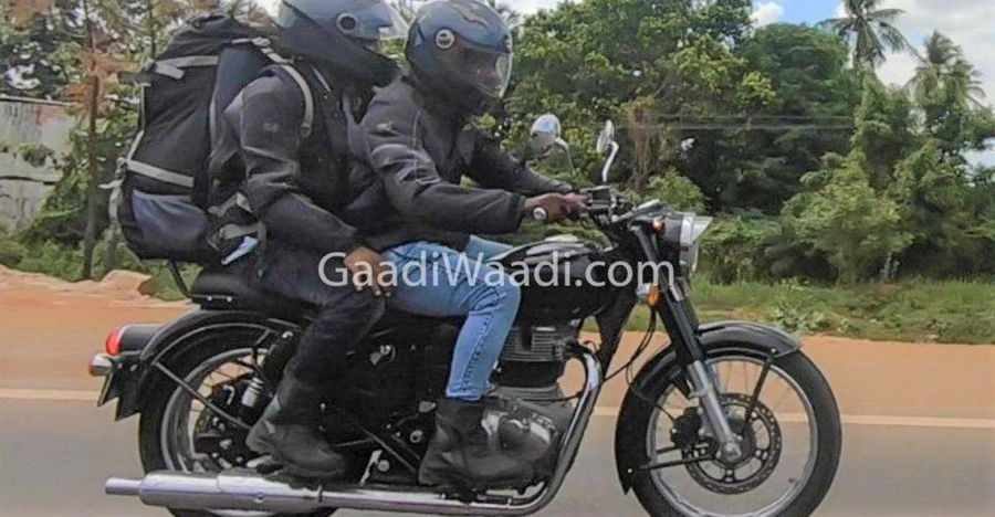 Royal Enfield Classic 350 Spied Feature