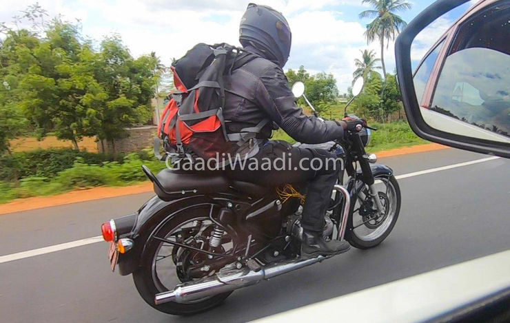 Royal Enfield Classic 350 Spied