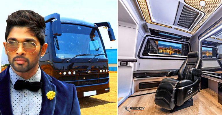 Allu Arjun Vanity Van Featured