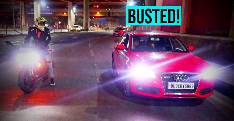 Audi A4 owner drag races with Kawasaki Ninja 1000: Cops BUST Audi owner after video goes viral
