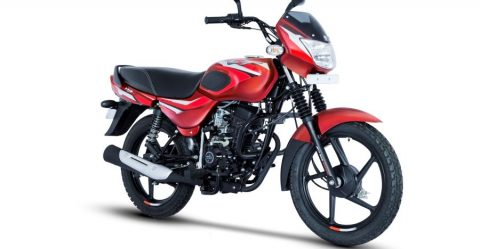 Bajaj Ct110 In Red Featured