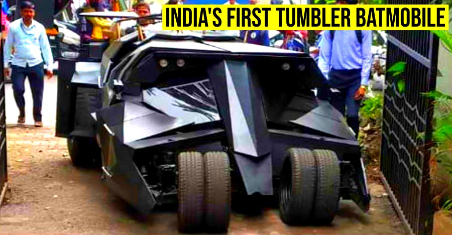 India's first Batmobile Tumbler is built by students: Looks totally WILD [Video]